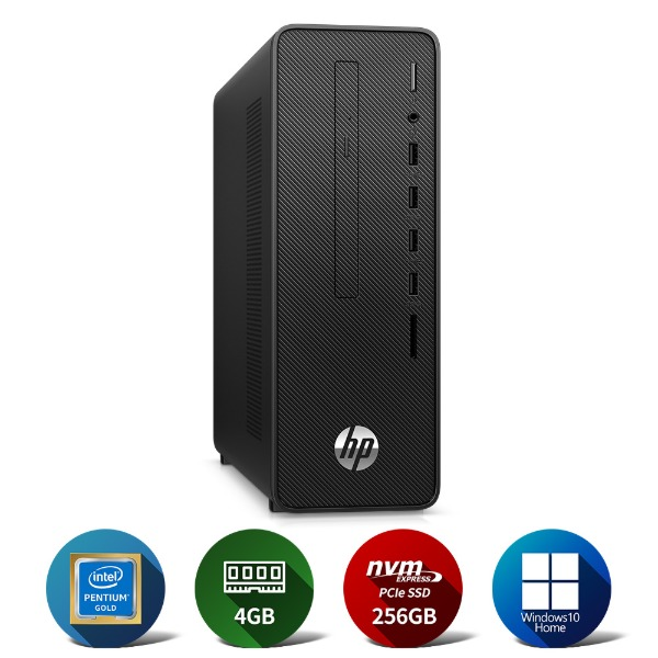 280 G5 SFF G6400/4GB(4*1)/NVMe 256GB/Win10Home/WLAN/1yr