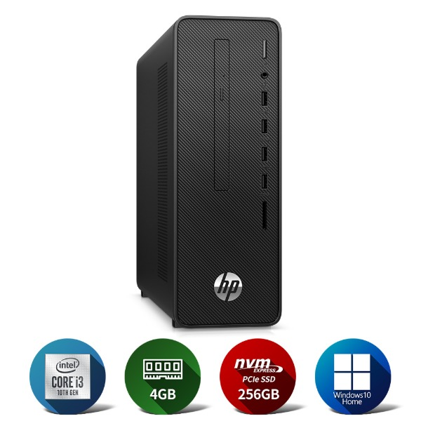 280 G5 SFF i3-10100/4GB(4*1)/NVMe 256GB/Win10Home/WLAN/1yr